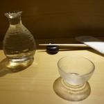 SUSHI TOKYO TEN、 - [ドリンク] 冷酒 福島『あぶくま』