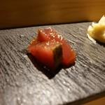 SUSHI TOKYO TEN、 - [料理] 初鰹 刺身