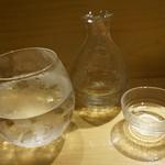 SUSHI TOKYO TEN、 - [ドリンク] 冷水 & 冷酒 福島『あぶくま』
