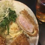 とんかつ かつ壱 - ヒレカツランチ(1100円)
