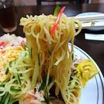 中華料理 とき - 麺は細ちぢれ麺