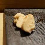 SUSHI TOKYO TEN、 - [料理] 鯛子 (鯛の腹子)