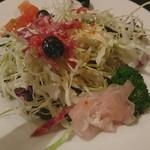 洋食 松キッチン - セットのサラダ
