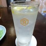 中華料理 とき - レモンハイ