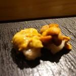 SUSHI TOKYO TEN、 - [料理] 紫うに & 馬糞うに