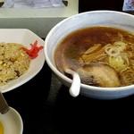 味の時計台 - 料理写真:得ラーメンAセット750円。