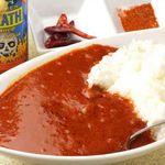 ファイヤーボンバー - ★バサラカレー  バサラをイメージした辛口カレーです。スパイシーな味わいが食欲を掻き立てます!  800円