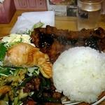 食事処 館 - 500円日替わり定食。
