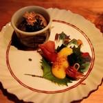 67205339 - ホタルイカ酢味噌