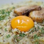 67206692 - とんこつカルボナーラつけ麺…940円