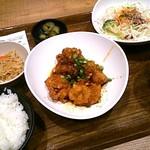 米どころん - 油淋鶏定食