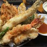 宝 - 海鮮天丼1200円
