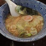 自家製麺つけ麺 紅葉 - つけ汁