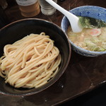 自家製麺つけ麺 紅葉 - つけ麺(並)太麺
