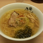 ひるがお - 塩ラーメン(780円)