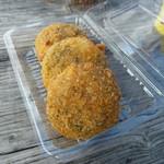 丸吉食品 - 料理写真:もずくコロッケ