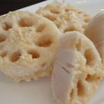 蕎麦DAYS - 中之島れんこんの天ぷら