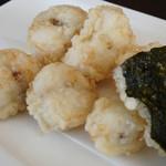 蕎麦DAYS - ふぐの天ぷら