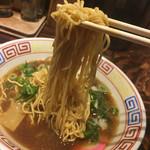 まっち棒 - ◆麺は細麺ストレート。