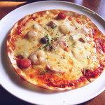 のこのこ - ランチセットのミックスピザ