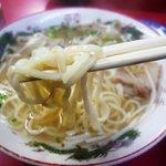 のり一 - ラーメン 麺