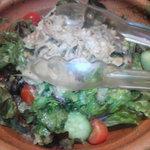 もつ鍋・馬刺 HAKATA109×2 - 和牛ホルモンしゃぶしゃぶサラダ。
