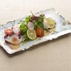 北海水蛸と香味野菜のサラダ仕立て