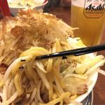 富士タンメン - 富士節麺の極太麺