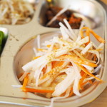 冷麺館 - ハラミ定食