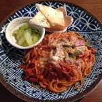 かのこ - 料理写真:ナポリタン