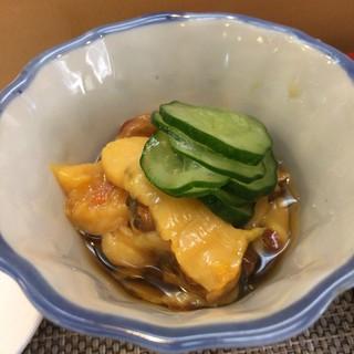 寳来寿司 - 料理写真:ホヤ酢で冷酒をば♪   クセなど皆無。美味かった!