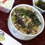 お料理 松山 - 料理写真:マツカワ漬け丼