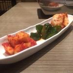 焼肉HAMAKIN - キムチ盛り
