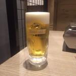 焼肉HAMAKIN - 生ビール