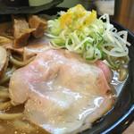 中華蕎麦 とみ田 - ローストポーク