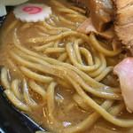中華蕎麦 とみ田 - 自家製太麺