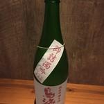 ミスター酒場 - 鳥海山 純米吟醸生酒 即詰濁吟 にごり生原酒