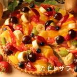 一凛珈琲 - フルーツのタルト