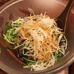 とり鉄 - サラダ