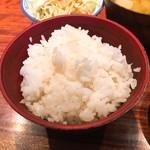 小倉鉄なべ - 鉄なべランチ ご飯
