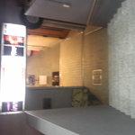 くずし懐石 きんすい - ビルの入り口です。階段を下りた所がお店です。