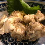 日本橋兜町 もつ千 - カニ味噌クリームチーズ399円