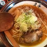 高田 煮干しと焼き味噌 豆亭 - 焼き味噌ラーメン