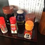 高田 煮干しと焼き味噌 豆亭 - 卓上調味料