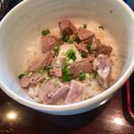 麺's たぐち - 温玉チャーシュー丼320円