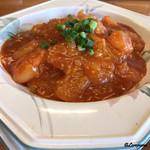 パーラージロー - エビチリ丼