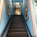 パーラージロー - 階段を上り二階へ