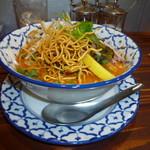 コップンカー食堂 - 料理写真:カレーラーメン