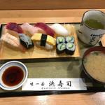 浜寿司 - 握りランチ1,080円
