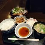 家庭割烹瑠璃長 - 日替わりランチ(700円)2017年5月